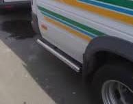 Боковые пороги труба за задним колесом Volkswagen LT нержавейка