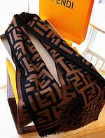 Теплый шарф в стиле Fendi (Фенди)