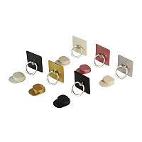 Кольцо-держатель - холдер крючок для телефона Серебристый