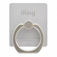 Кольцо-держатель iRing для телефона Серый