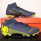 Футбольные бутсы Nike Superfly 6 Academy FG/MG (Оригинал) AH7362 070, фото 7