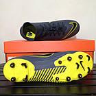 Футбольные бутсы Nike Superfly 6 Academy FG/MG (Оригинал) AH7362 070, фото 10