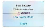 Акционная замена аккумулятора