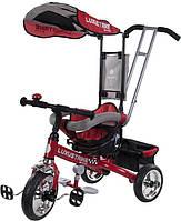 Велосипед триколісний SUN BABY Luxus Trike (XG18819G/CZ) з ручкою Червоний (3072018053)