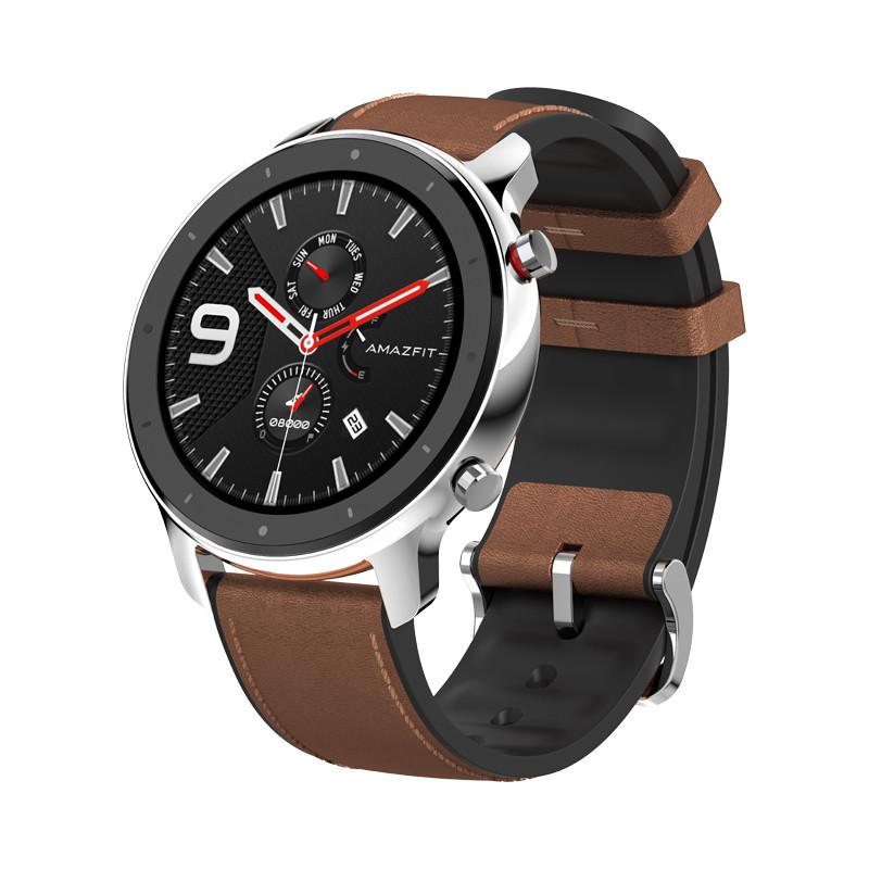 Умные часы Smart Watch Xiaomi Amazfit GTR 47mm Stainless Steel