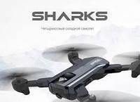 Квадрокоптер F196 Sharks дальність польоту 100 метрів час польоту 22 хвилини, фото 2
