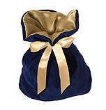 Мешок для подарков с лентой на 800г, фото 2