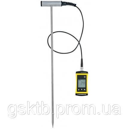 Термометр для почвы и др. сыпучих материалов Greisinger SoilTemp 1700 (Германия), фото 2