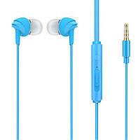 Наушники проводные для телефона Cokike X9 синий