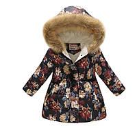 Удлиненная курточка для девочки на 10 лет