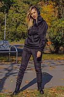 Спортивный костюм женский велюровый теплый, фото 1