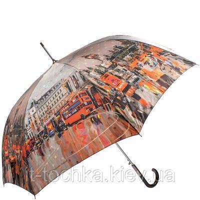 Зонт-трость женский полуавтомат zest z81644-001