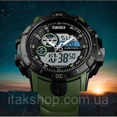 Мужские наручные часы Skmei Green, фото 2
