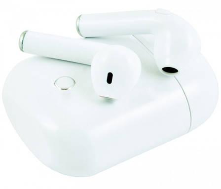 Беспроводные Bluetooth наушники iFans i8S TWS STEREO with box Белые(Реплика), фото 2