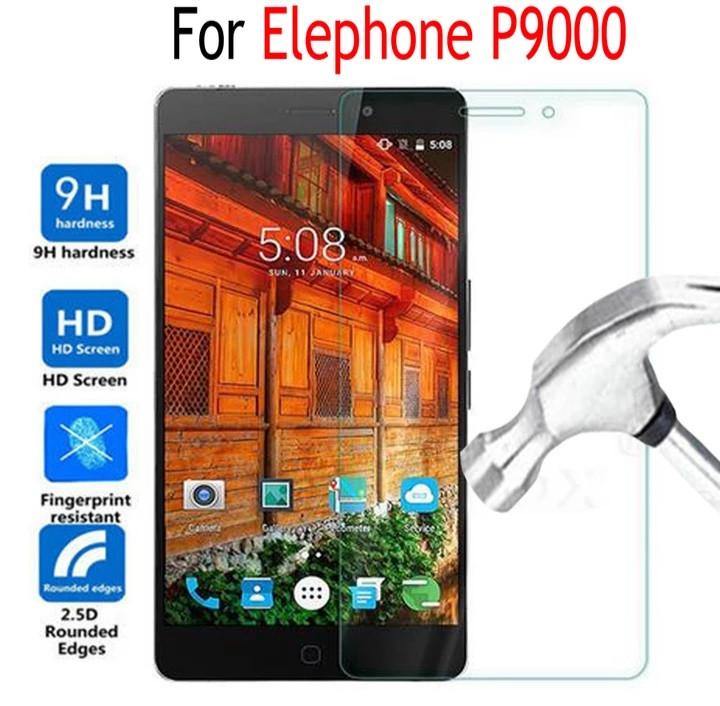 Загартоване захисне скло на Elephone P9000
