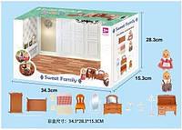 Животные флоксовые 1602F (12шт) Спальня , фигурки животных в комплекте,  в коробке