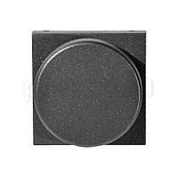 Светорегулятор поворотный для люминисцентных ламп Антрацит АВВ Zenit (N2260.9 AN)