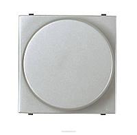 Светорегулятор поворотный для люминисцентных ламп Серебристый АВВ Zenit (N2260.9 PL)
