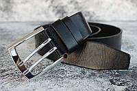 Кожаный мужской ремень широкий под джинсы 45мм