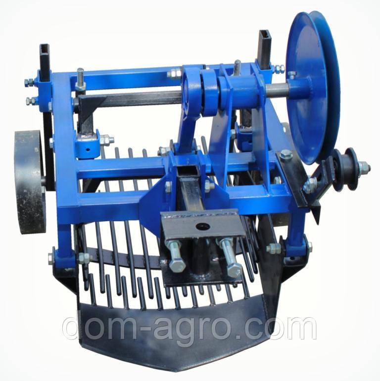 Картофелекопатель вибрационный 2х эксцентриковый под мототрактор с гидравликой (КК13)