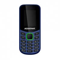 Кнопочный телефон Assistant AS-101 Blue