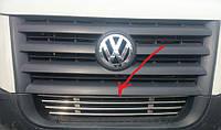 Решетка в бампер Volkswagen Crafter нержавейка
