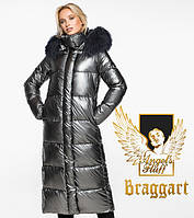 Braggart Angel's Fluff 31072   Теплый женский воздуховик темное серебро