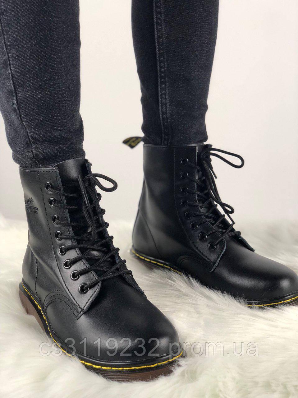 Мужские ботинки Dr Martens 1460 демисезонные (черный)
