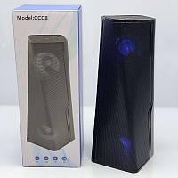 Портативная колонка Bluetooth CC08 Чёрный