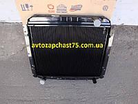 Радиатор Зил 5301, Зил Бычок 2-х рядный , медный (ШААЗ, Россия)