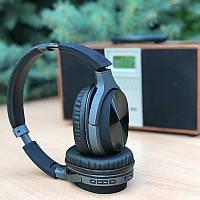 Наушники беспроводные полноразмерные Bluetooth  BRUM BM-AZ-17 Чёрный