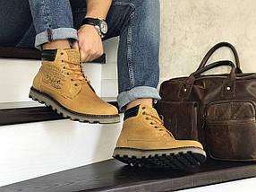 Мужские ботинки натуральная кожа нубук внутри экомех, фото 3