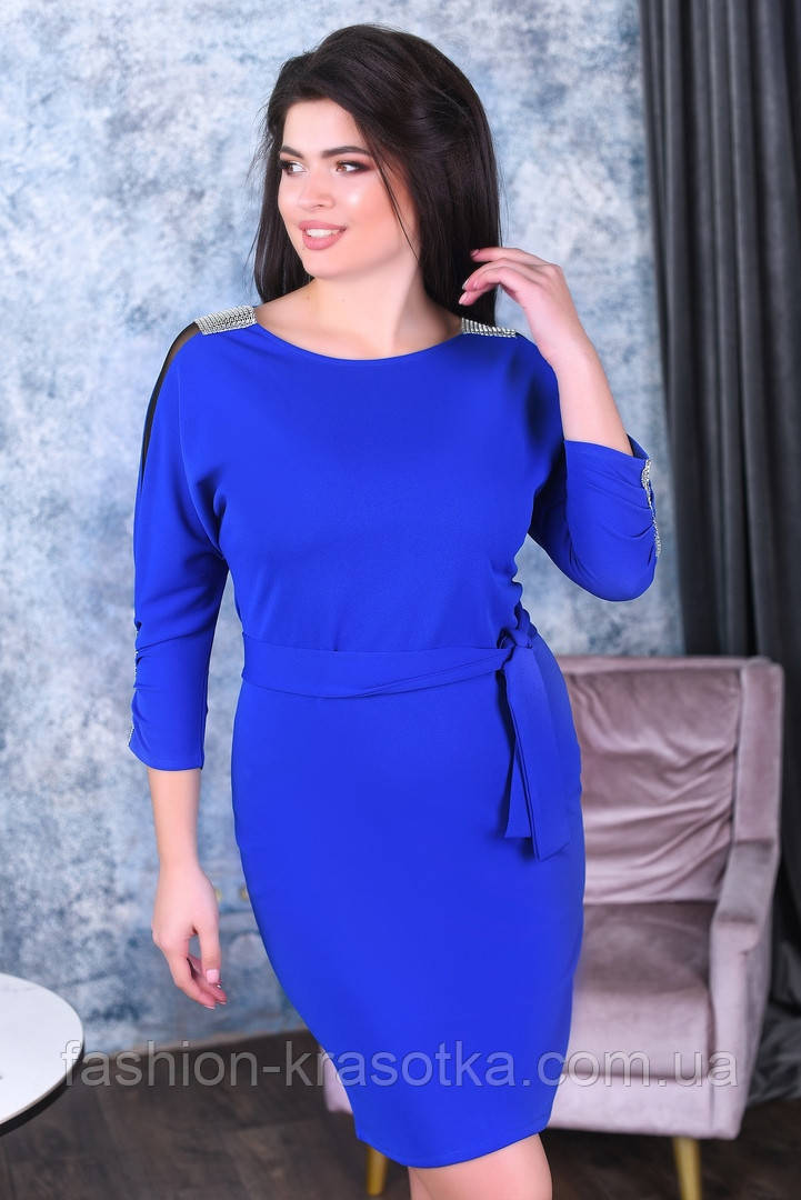 Шикарное женское платье,размеры:50,52,54.