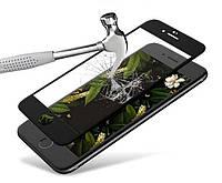 Загартоване захисне скло на Iphone 6s 100% покриття Чорне, фото 1
