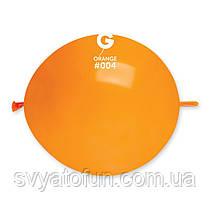 """Латексные воздушные шарики 13"""" (""""Tet-a-tet"""") пастель 04 оранжевый, Gemar"""
