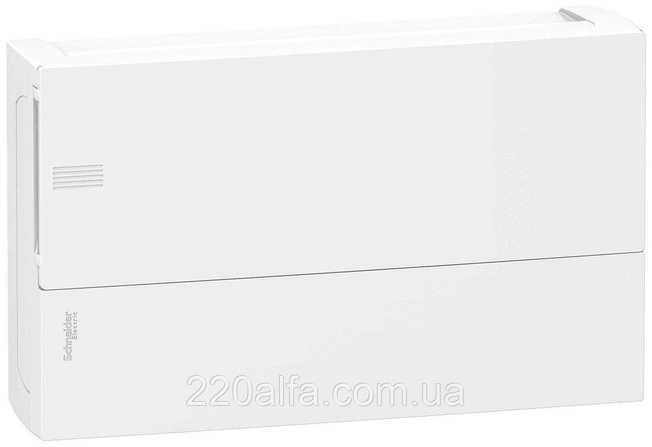 Наружный щиток на 18 автоматов MINI PRAGMA SCHNEIDER ELECTRIC ( белая дверь)