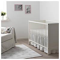 IKEA LEN Балдахин для детской кроватки, белый (202.959.11)