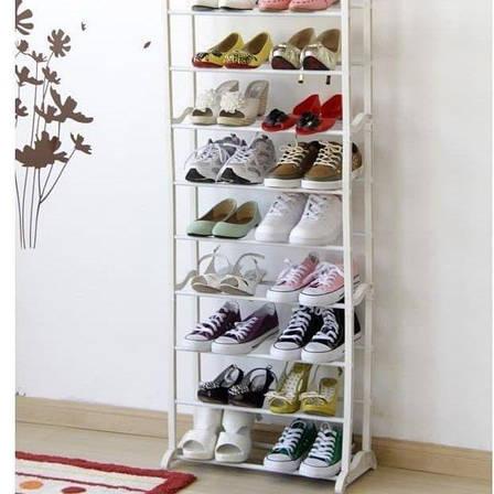 Полка для обуви, органайзер, стеллаж Amazing Shoe Rack на 30 пар, фото 2
