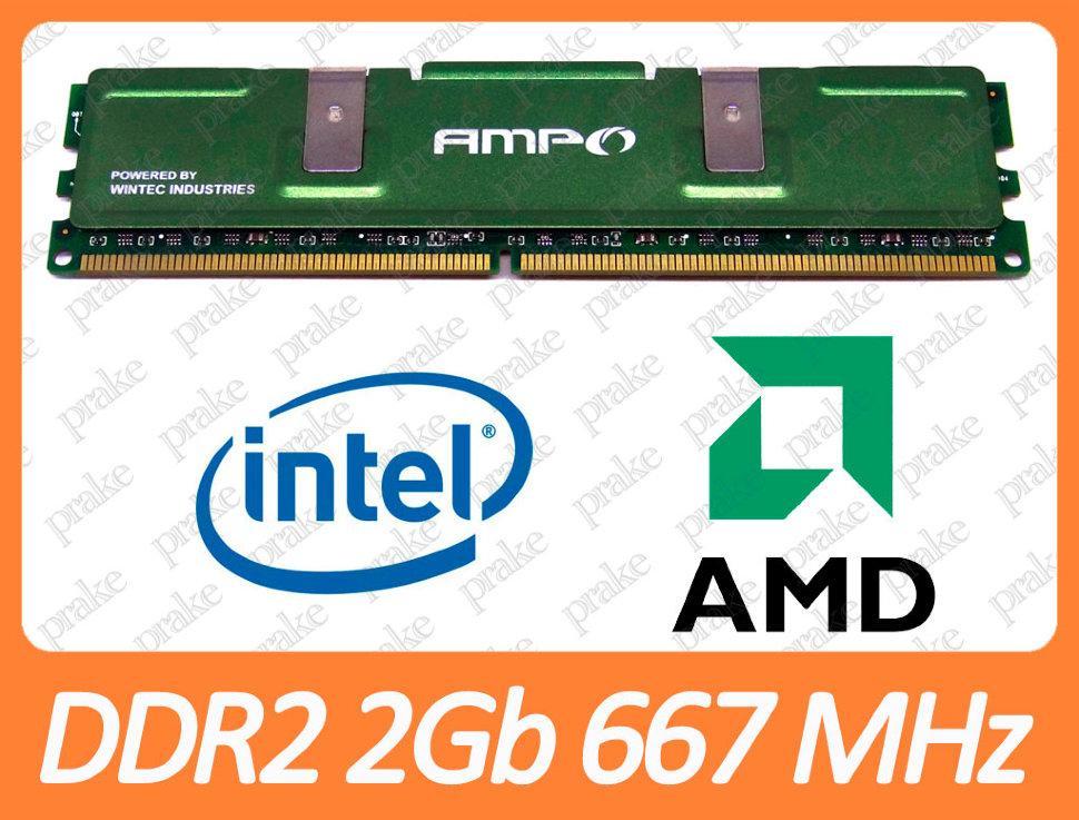DDR2 2GB 667 MHz (PC2-5300) Wintec Ampo 3AMD2667-4G2K-R