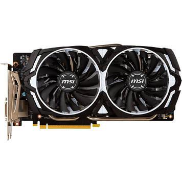 Відеокарта MSI GeForce GTX 1060 Armor OCV1 6GB GDDR5 (GTX 1060 ARMOR 6G OCV1)