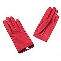 Перчатки The Monochrome 7 кожаные Красные (SS_1868a)