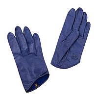 Перчатки The Monochrome 7 кожаные Синие (SS_1868e)