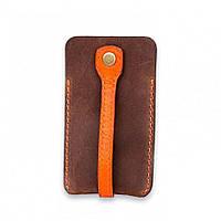 Ключница кожанная Апельсин (163-13711450)