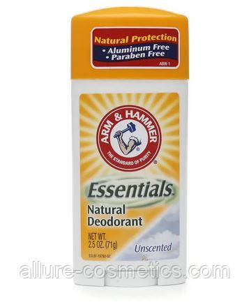 Твердый дезодорант без металлов Arm & Hammer Essentials Deodorant with Natural Deodorizers Unscented