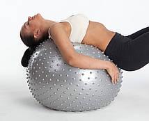 Мяч для фитнеса Фитбол массажный 65 см (130-1232838)