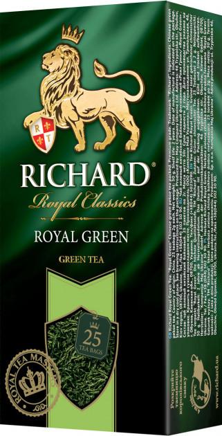 Чай зеленый Richard Royal Green 25 пак.