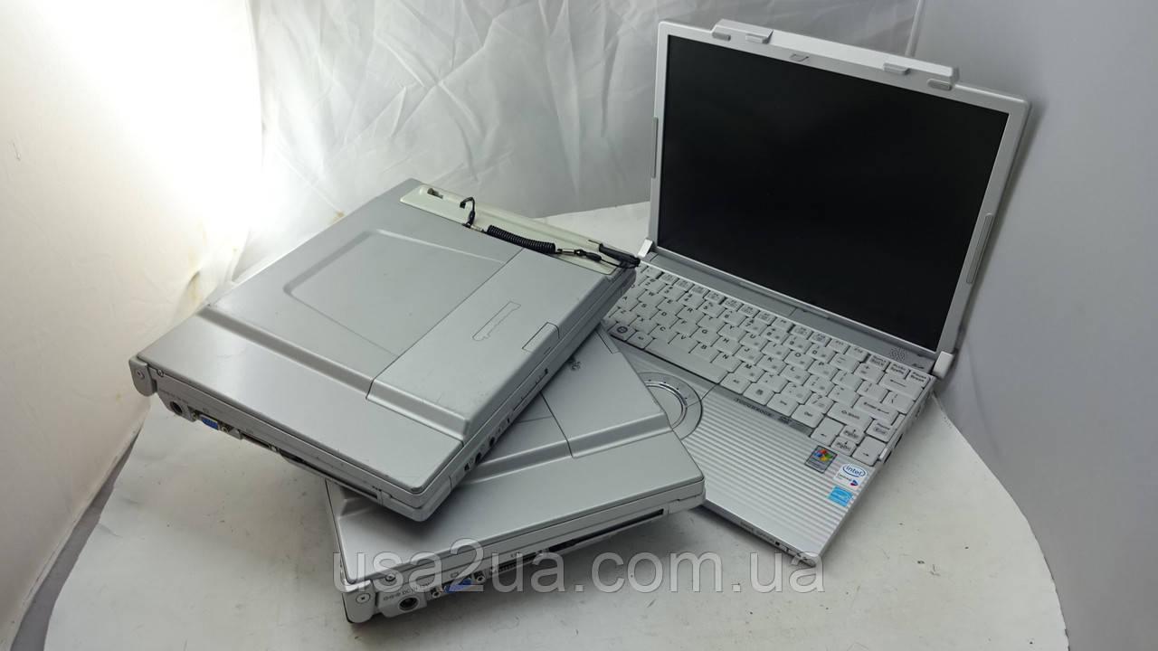 3 шт Защищенный Ноутбук Panasonic CF T7;T8;W5 core 2 duo рабочие