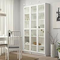 IKEA BILLY/OXBERG Книжный шкаф, белый (692.818.04)
