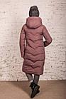 Удлиненное зимнее пальто на женщин сезон 2020 - (модель кт-701), фото 3
