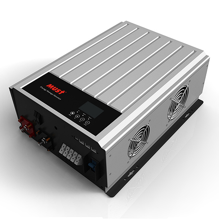 Гібридний мережевий інвертор напруги SANTAKUPS PH3000 32 кВт 1 фаза 1MPPT, фото 2